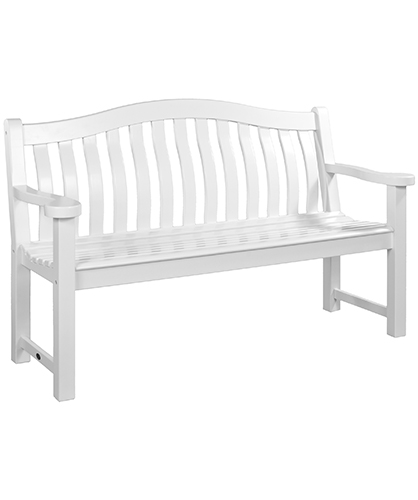 322W WHITE TURNBERRY BENCH 5FT £325.00