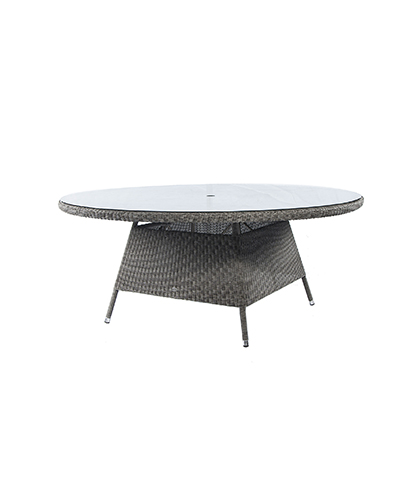 7709GR TABLE W. GLASS 1.8M £699.00