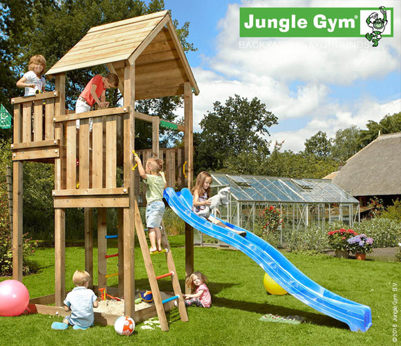 Climbing Frame with Slide - Jungle Palace