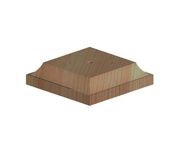 727125B Fencemate® Post Base for Wooden Finials