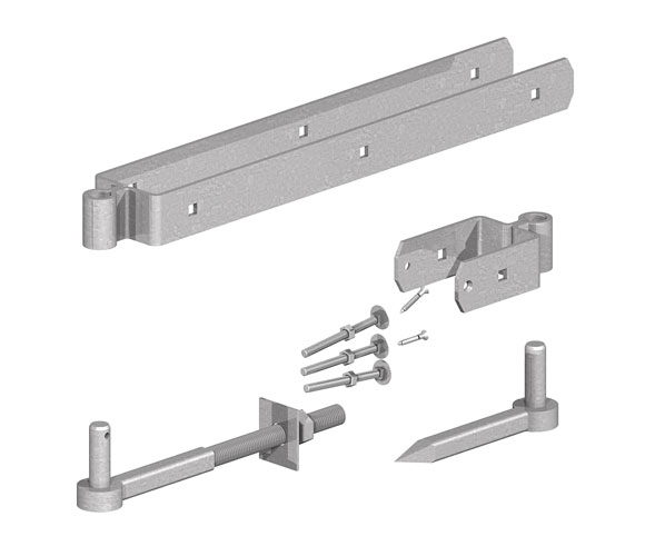 0306001 GATEMATE® Field Gate Double Strap Hinge Set